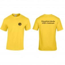Tričko UNISEX s názvom fakulty (Filozofická fakulta)