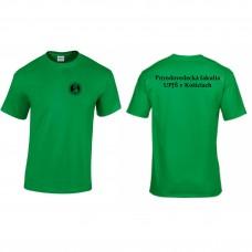 Tričko UNISEX s názvom fakulty (Prírodovedecká fakulta)