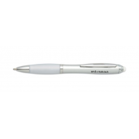 Dotykové plastové guľôčkové pero s názvom univerzity