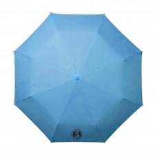 Dáždnik skladací - svetlomodrý