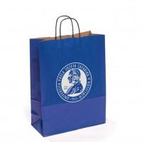 Papierová taška - modrá