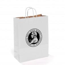 Papierová taška - biela