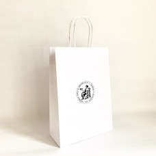 Papierová taška biela s logom Lekárskej fakulty