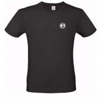 Tričko UNISEX s logom univerzity - čierne